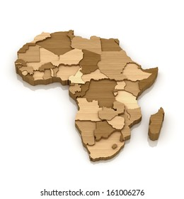 wood African continental