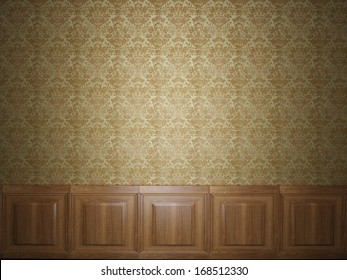 wood panel wallpaper