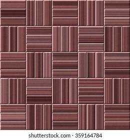 Wood parquet - designed on brown color - texture