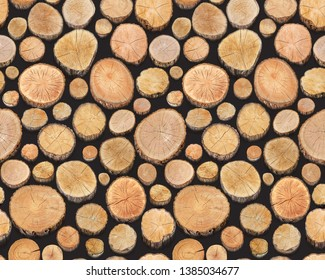 wood stump texture abstract background