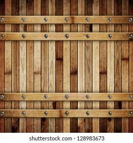 Wooden barrel barrel background