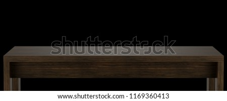 Wooden Table Top Template Isolated On Stock Illustration 1169360413
