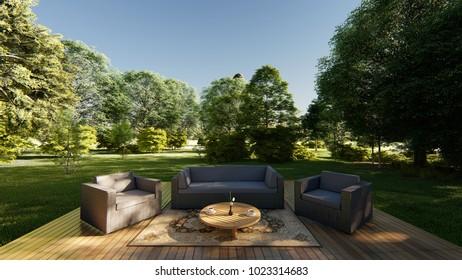 Terrazas De Madera Images Stock Photos Vectors Shutterstock