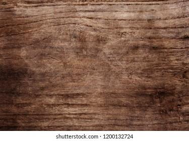 Wooden texture, grunge brown background