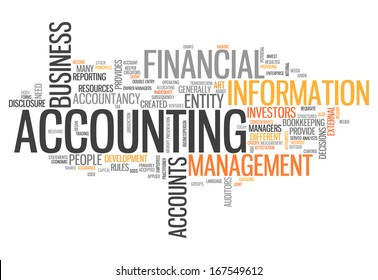 "Word Cloud ""Accounting"""