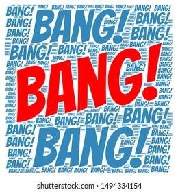 Word Cloud - Bang, Bang!
