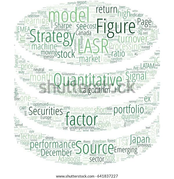 Word Cloud Big Data Finance Stock Illustration 641837227