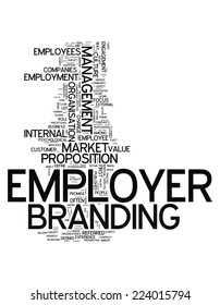 Word Cloud with Employer Branding related tags