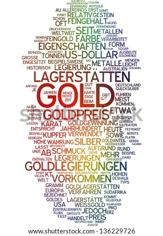 Word Cloud   Gold