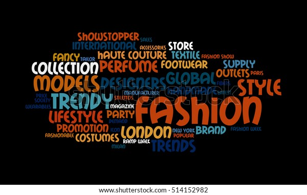 Word Cloud Illustrating Prime Concept Fashion Stock Illustration 514152982