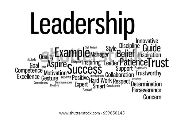 Word Cloud Illustrating Prime Concept Leadership Stock