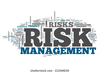 Word Cloud with Risk Management related tags
