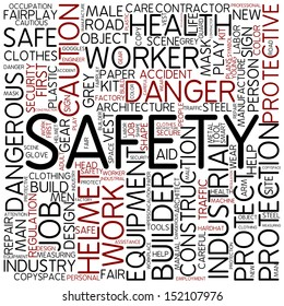 Word cloud - safety