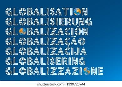 Globalisation Images, Stock Photos & Vectors   Shutterstock