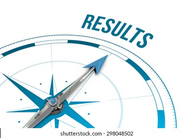 The word results against compass