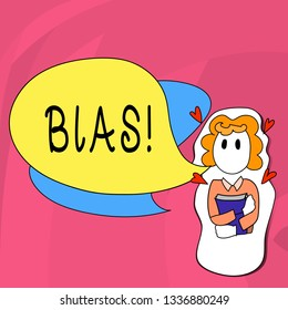Word writing text Bias. Business concept for Unfair Subjective Onesidedness Preconception Inequality Bigotry.