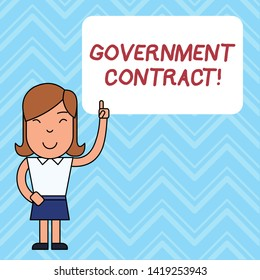 Women and Government Contracts Stock Illustrations, Images