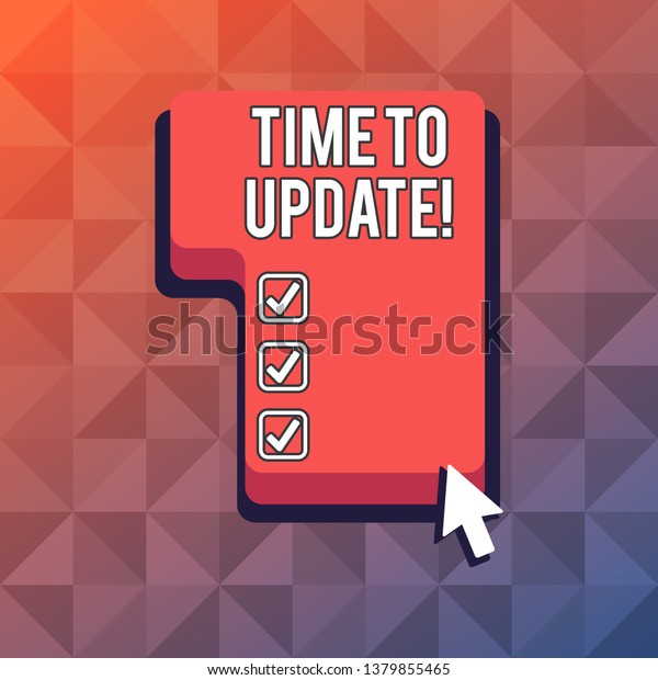 time updating