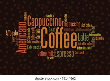 Nube de café