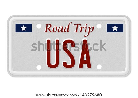 words road trip usa on gray stock illustration 143279680 shutterstock