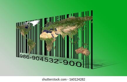 World  Bar code