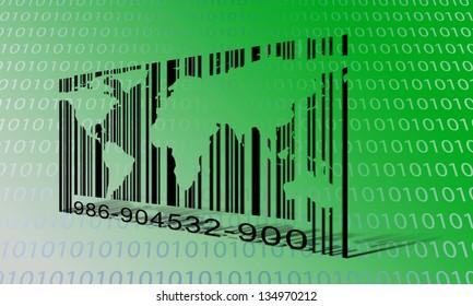 World Binary Barcode