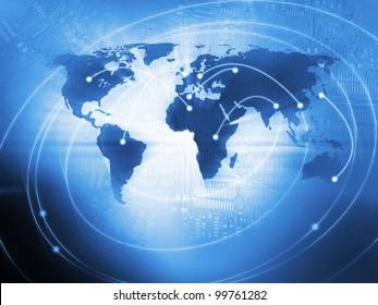 Hintergrund der Weltwirtschaft