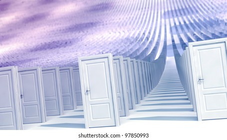 world of closed doors