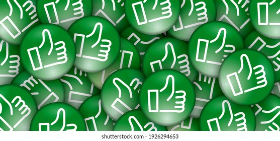 World Compliment Day. March 1. like hand thumb up or thumbs down. Unlike or dislike day. Motivation, inspiration concept. Don't or Dont finger. Green sign.
