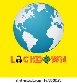 The world did a lockdown due to the endemic Coronavirus (Covid-19)