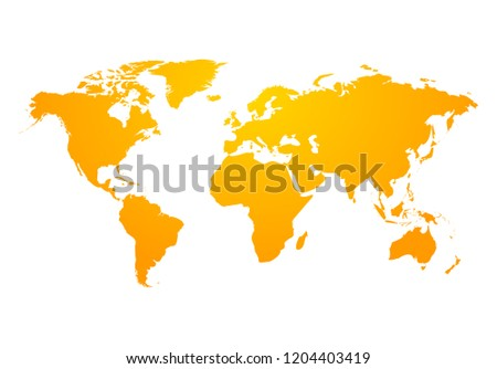 world map global earth icon america stock illustration 1204403419