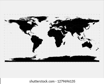 Mercator Map Of The World Images, Stock Photos & Vectors | Shutterstock
