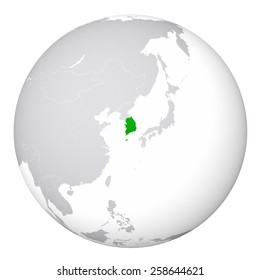 World map north korea stock illustration 258644603 shutterstock world map south korea gumiabroncs Gallery