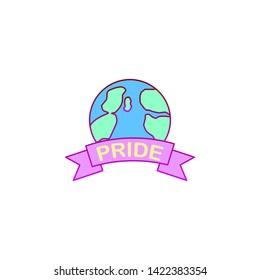 World, pride day icon. Element of color world pride day icon. Premium quality graphic design icon. Signs and symbols collection icon