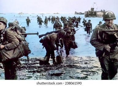 World War II, The Battle of Normandy, 1944,
