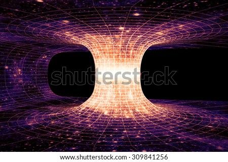 A wormhole or EinsteinRosen