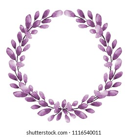 wreath with elements of Heather parts
