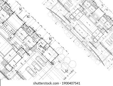 Write a blueprint architecture for building.