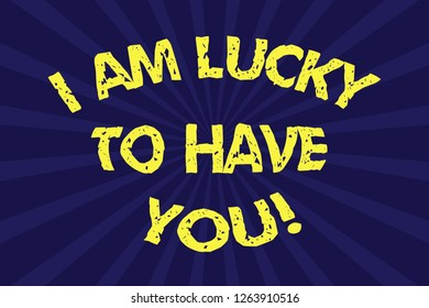 500 I Am Lucky Pictures Royalty Free Images Stock Photos And