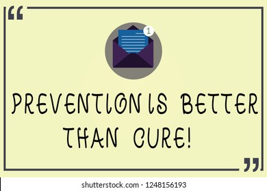 Prevention Is Better Than Cure Images Stock Photos Vectors