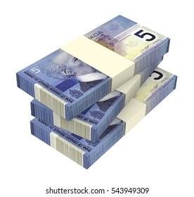 WROCLAW, POLAND - MAY 4: 3D illustration of Canadian banknotes drawn on 4 May 2014 in Wroclaw, Poland. Dollar banknotes are the bills of Canada.