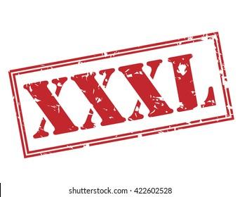 xxxl stamp