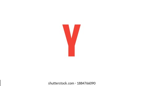 Y Letter - Abstract Art Alphabet Letter Y Logo.