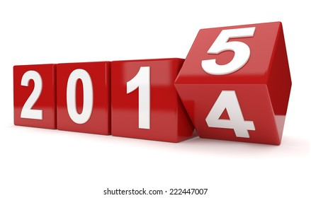 year 2014 changes to 2015