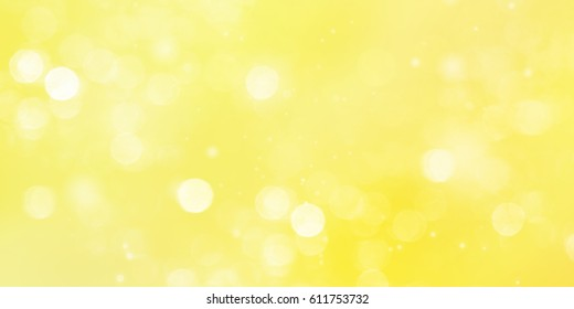 Yellow abstract  background blur.