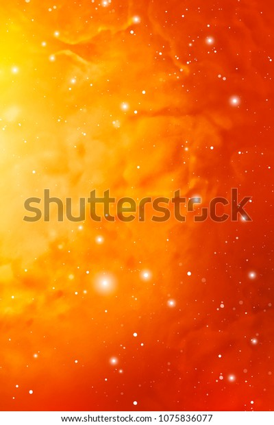 Yellow Astrology Mystic Outer Space Background Stock Illustration 1075836077