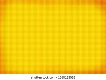 Yellow background with squares pattern