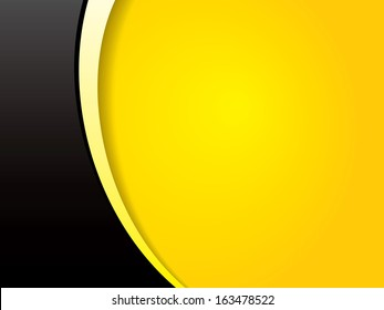 Yellow Black Clean Corporate Business Background with Simple Style for Modern Corporate Business