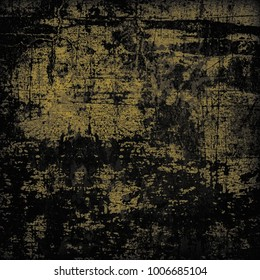 Yellow black grunge background