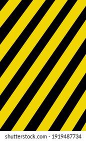 Yellow and black stripes illustration